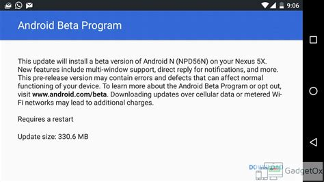 android developer preview android n developer preview 4 npd56n changelog all that s new