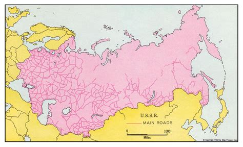 russia map before 1991 railway system of the soviet union