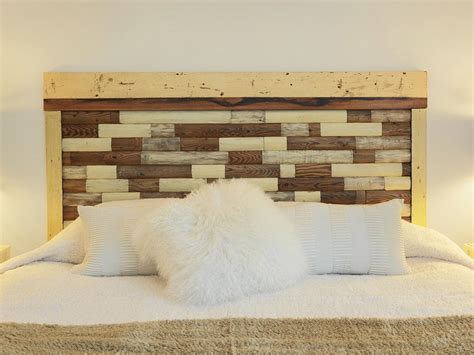 wood diy headboard how to build a headboard from an old picket fence how