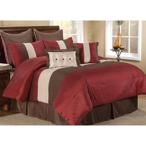 red bedspreads and comforters red bedding set a thrifty mom recipes crafts diy and