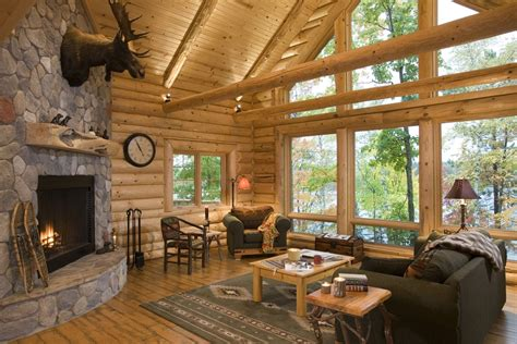 log cabin great room pictures log home photos greatrooms family rooms expedition
