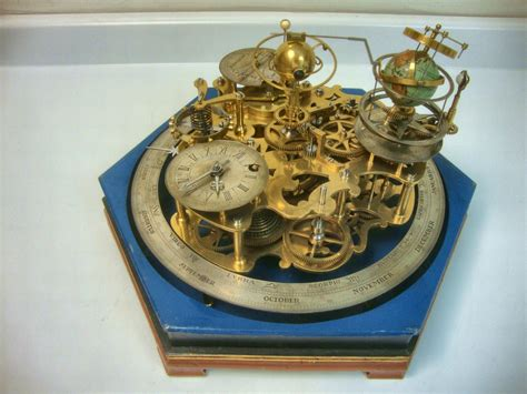 clockwork orrery maker unknown  english