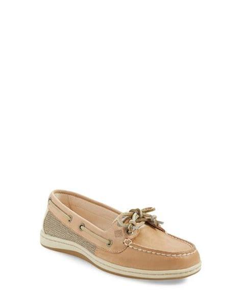 sperry firefish boat shoe sperry top sider firefish boat shoe in beige for men