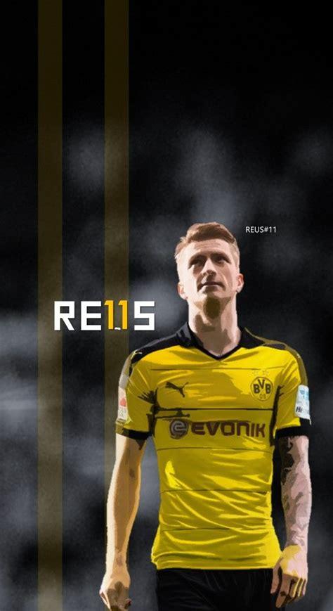 wallpaper laptop marco reus marco reus dortmund football soccer creative art