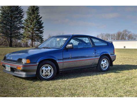 old car repair manuals 1985 honda cr x electronic valve timing 1985 honda crx for sale classiccars com cc 1042755