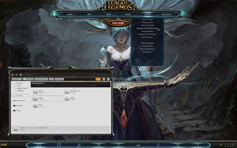 themes for windows 7 league of legends league of legends for windows 7 themes free windows 7