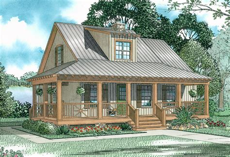 house plans with covered porch covered porch cottage 59153nd architectural designs house plans