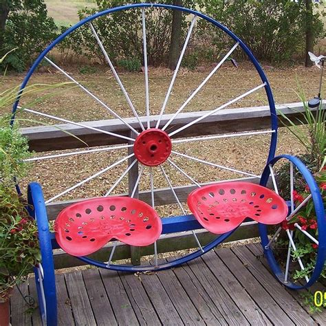 metal wagon wheel bench 17 best ideas about wagon wheels on pinterest bike wagon