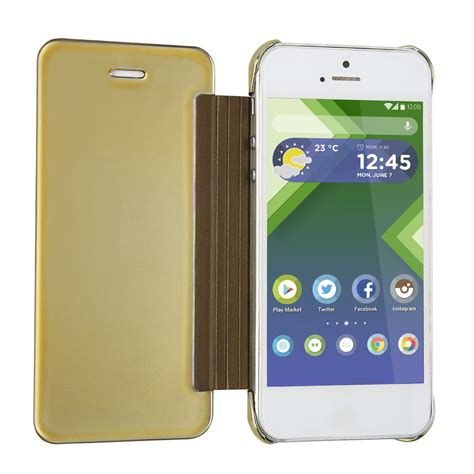 Hardcase Flip Cover Wallet Mirror For Iphone 5 6 6plus 7 casual abs flip wallet phone protective cover for iphone 5 5s ke ebay