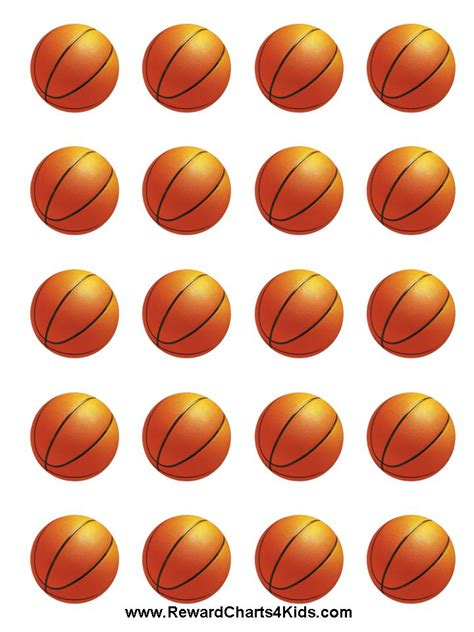 printable basketball stickers 1000 images about basketball printables on pinterest