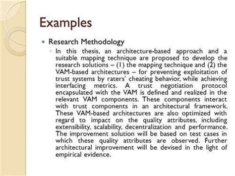 Research Methodology Example Dissertation Gallery For Gt Research Methodology Example