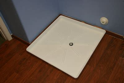 Washer Floor Tray Lowes by Washing Machine Pan It Was Then Time For The Moment Of