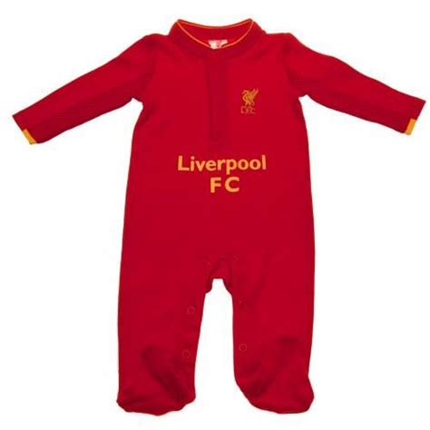 Baby Romper Liverpool Home 1516 liverpool fc sleepsuit 0 3 months liverpool baby clothes