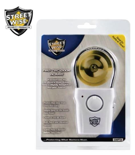 Door Knob Alarms by Security Gear