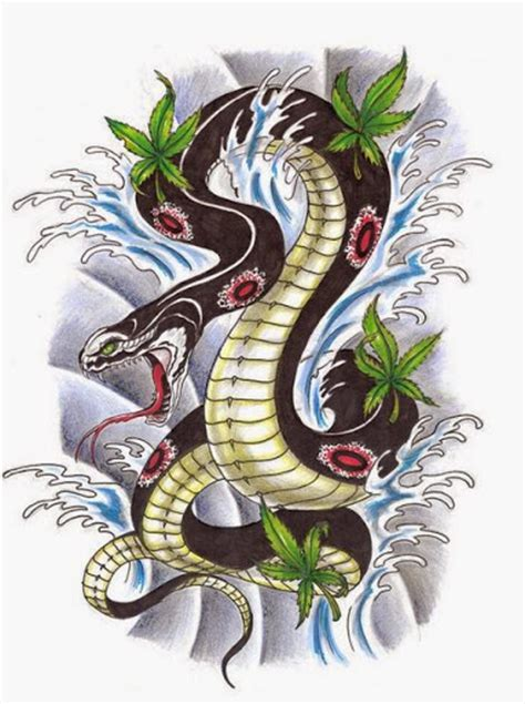 japanese snake tattoos designs 50 best snake tattoos designs and ideas designatattoo