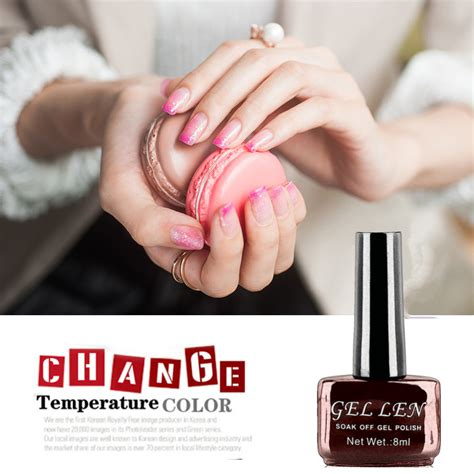 nail color for over 60 gel len temperature change color gel nail polish 60 colors
