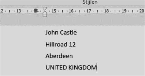 Etiketten Uit Excel Naar Word by Adressen Op Etiketten Afdrukken Handleiding Excel
