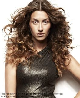 curly hair parted in the middle hairstyles with parted in the middle 2013 trends hairstyles