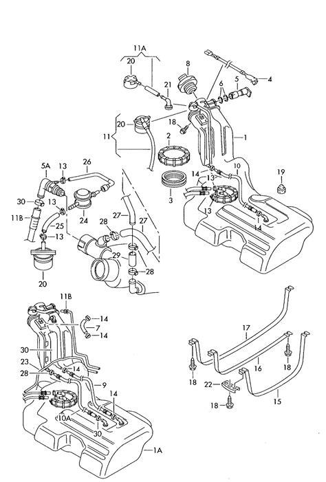 1999 Vw Passat Parts Diagram