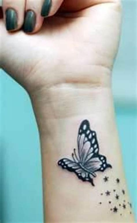 3d tattoos on wrist 3d butterfly search my style