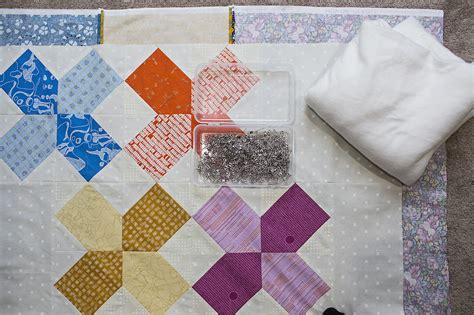 Quilt Basting by How To Pin Baste A Quilt Weallsew Bernina Usa S