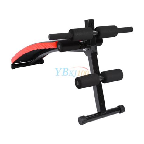 abdominal crunch bench new foldable sit up bench ab abdominal crunch exercise