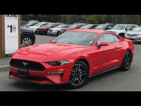 ford mustang ecoboost premium review island ford youtube