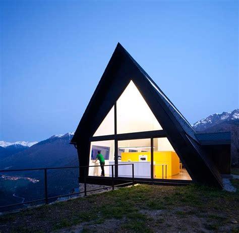 modern highland house pyrenees spain  beautiful