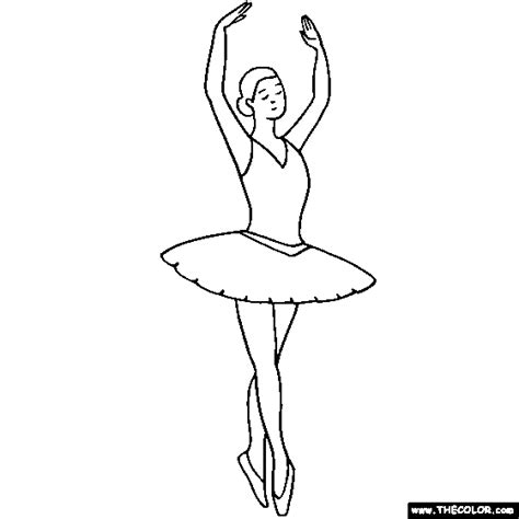 coloring pages of ballerina ballerina fifth position ballet coloring page texture book