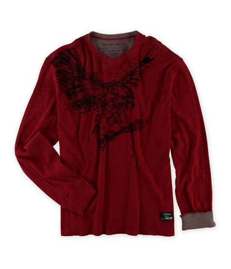 graphic knit sweaters holton fabrications mens knit graphic thermal sweater