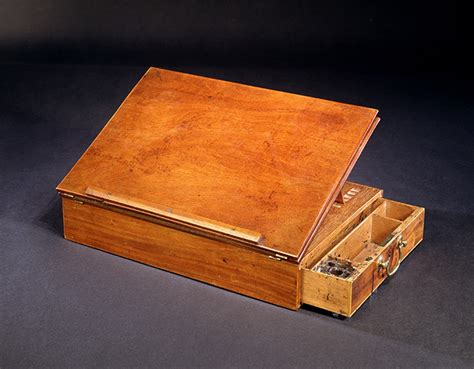 Jefferson Desk by Ruins Jefferson S Travel Desk And The Declaration