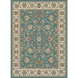 The Home Depot Area Rugs Tayse Rugs Blue 5 Ft 3 In X 7 Ft 3 In Traditional Area Rug Cpr1003 5x8 The Home Depot