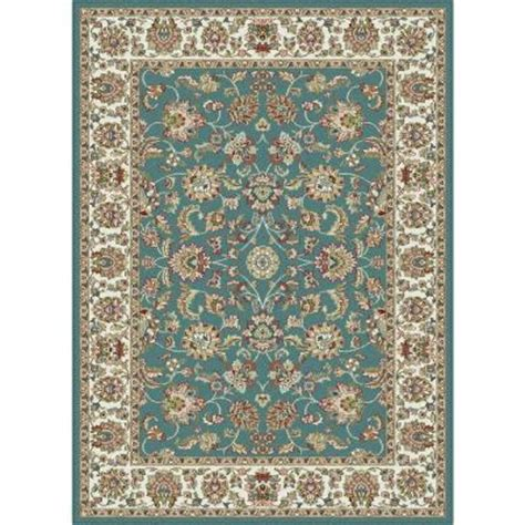 home depot rugs tayse rugs blue 5 ft 3 in x 7 ft 3 in