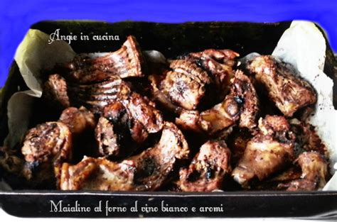 come cucinare il maialino al forno maialino al forno al vino bianco e aromi angie in cucina