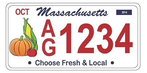 Massachusetts Vanity Plates Cost by Sign Up Choose Fresh Local