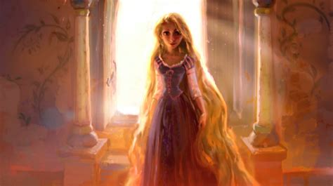 painting rapunzel disney princess images tangled concept wallpaper and