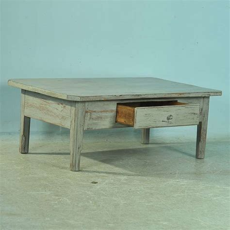 Painted Coffee Tables For Sale Antique Painted Pine Coffee Table With Single Drawer Circa 1860 80 For Sale At 1stdibs
