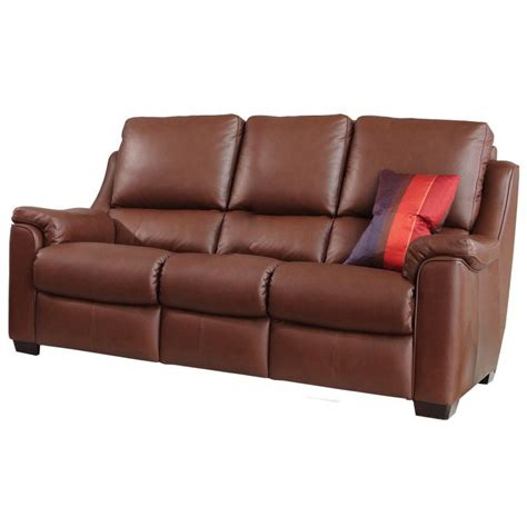 knoll albany 3 seater electric recliner sofa in