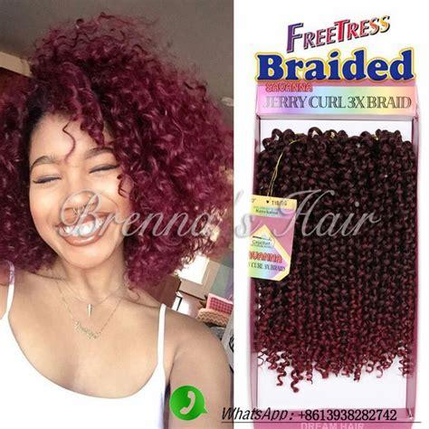what type of hair is use for big box braids m 225 s de 1000 ideas sobre curly crochet braids en pinterest
