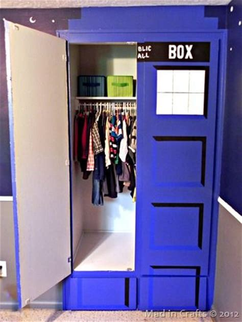 Tardis Wardrobe by 301 Moved Permanently