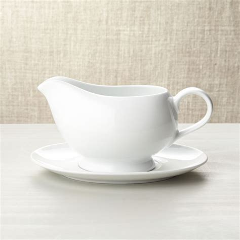 gravy boat  saucer reviews crate  barrel
