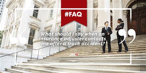 how to deal with insurance adjuster after a house fire how to deal with insurance adjusters after a truck crash