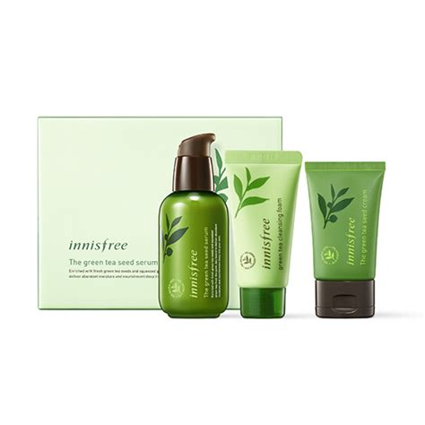 Innisfree New Green Tea Seed Serum Special Set skincare innisfree
