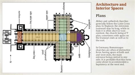 latin cross floor plan introduction to romanesque architecture