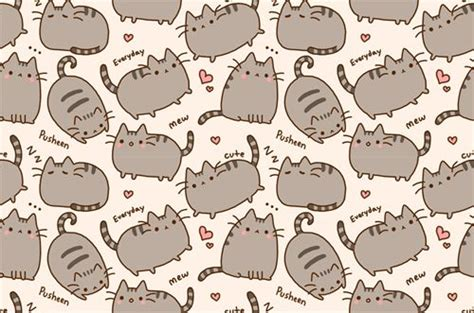 wallpaper cats kawaii kawaii cat wallpaper pusheen the cat pinterest cat