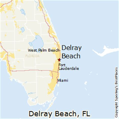 where is delray florida on the map best places to live in delray florida