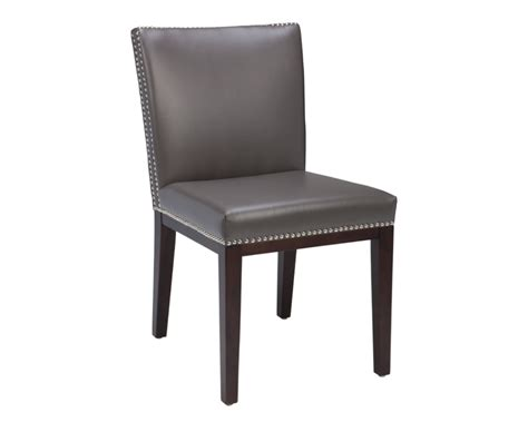 Gray Leather Dining Room Chairs Furniture Faux Leather Dining Chairs Serene Kingston Brown Faux Leather Grey Leather Chairs