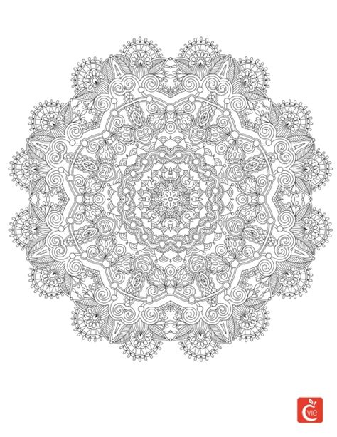 Mandalas : origine et effets bénéfiques | Mandala à imprimer