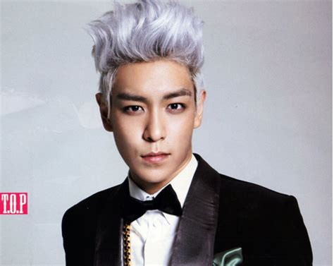 oh yeah top hairstyles bigbang t o p s yogurt hair soompi