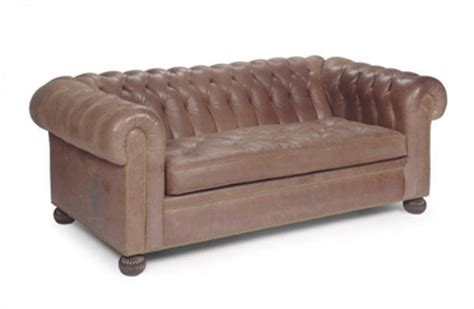 how to upholster a chesterfield sofa a button tufted brown leather upholstered chesterfield